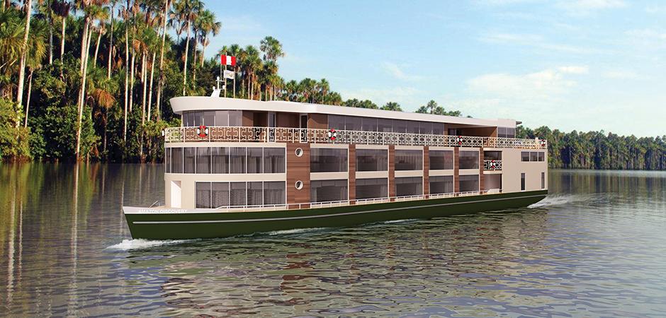 amazon river cruise vessel
