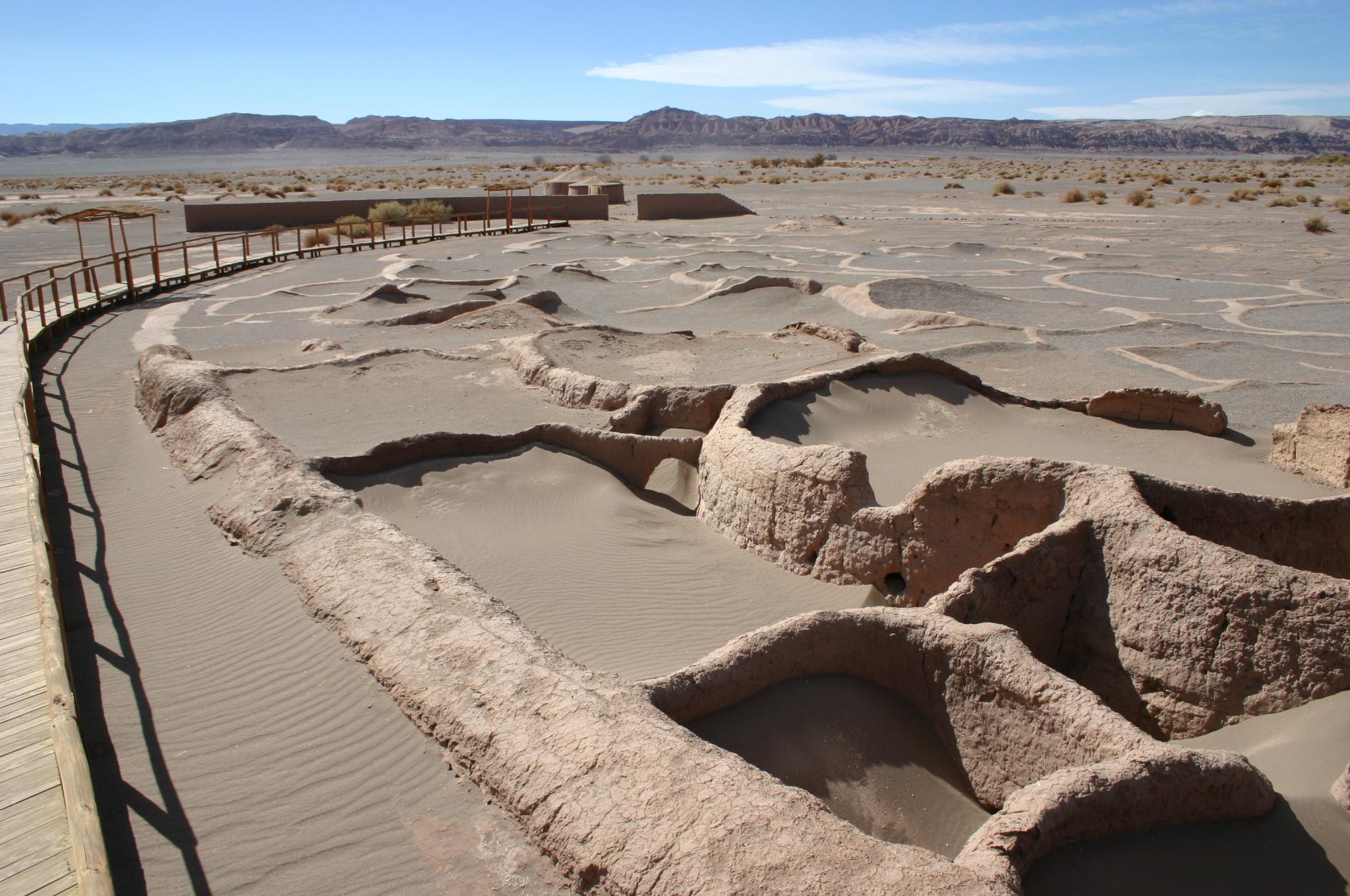 Archeological sites in Atacama