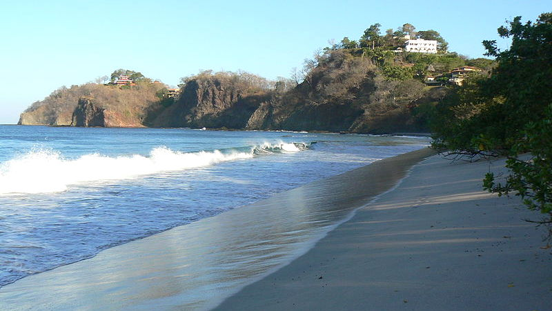 Potrero Beach Is Located Within The String Of Beautiful Beaches Stretching Along Northwest Pacific Coast Costa Rica In Province Guanacaste